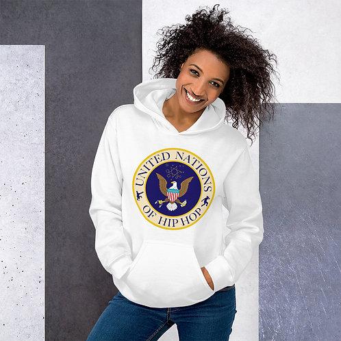 UN of Hip Hop Logo Hoodie