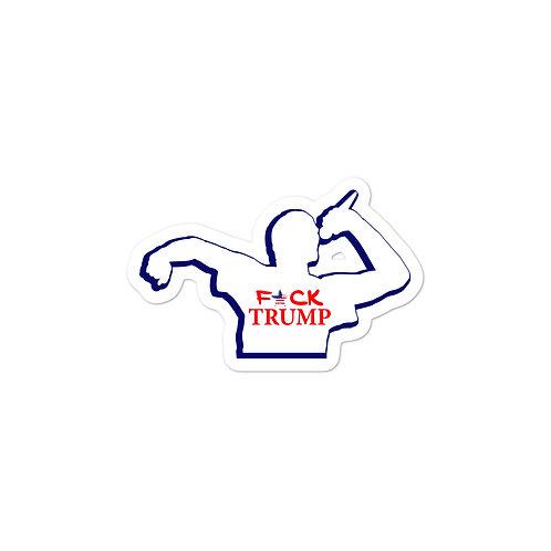 F*CK TRUMP MC Bubble-free stickers