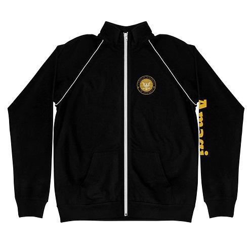 UN of Hip Hop Piped Fleece Jacket
