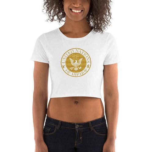UN of Hip Hop Women's Crop Tee