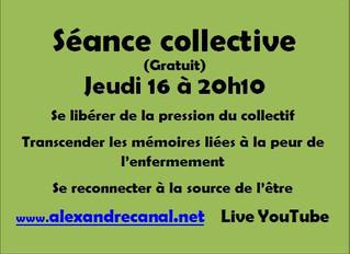 Séance collective jeudi 16 avril