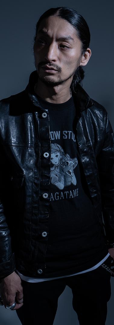 model:Akira(ISAMU KATAYAMA BACKLASH)  Photo:Taichi Nomura