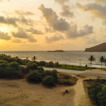 Maria Islands Sunrise - HDR.JPG