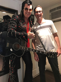 Working with Elvis.