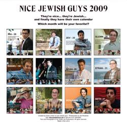 Nice Jewish Guys Calendar - Michael