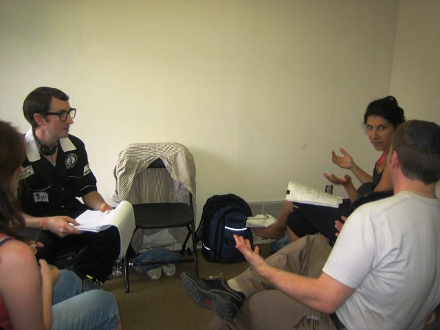 Cornhole: The Movie - Cast Meeting