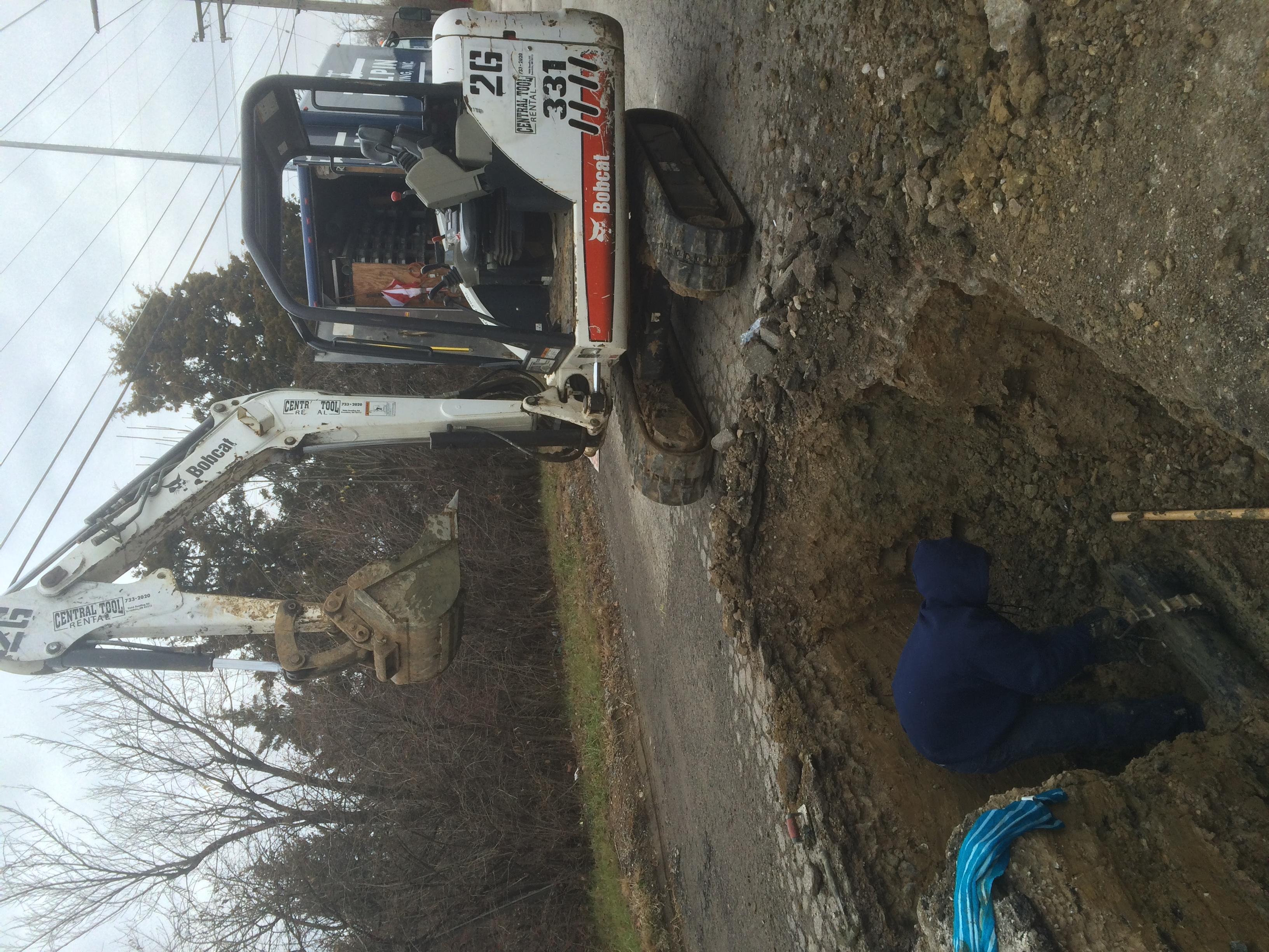 Water Service Repair