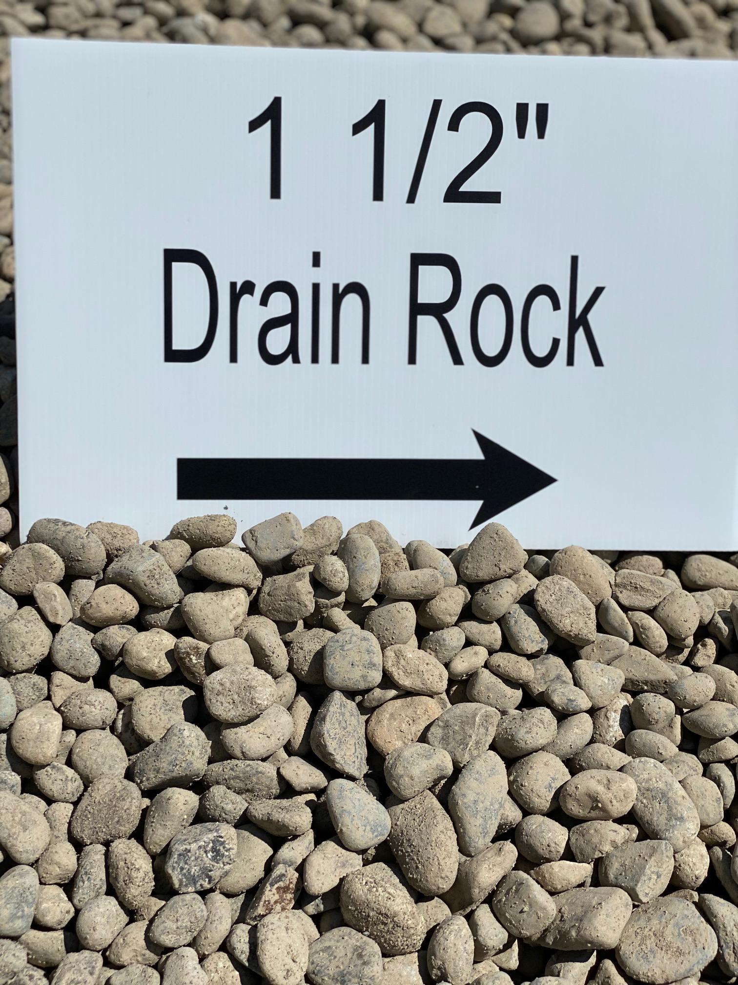 "1 1/2"" Drain Rock"