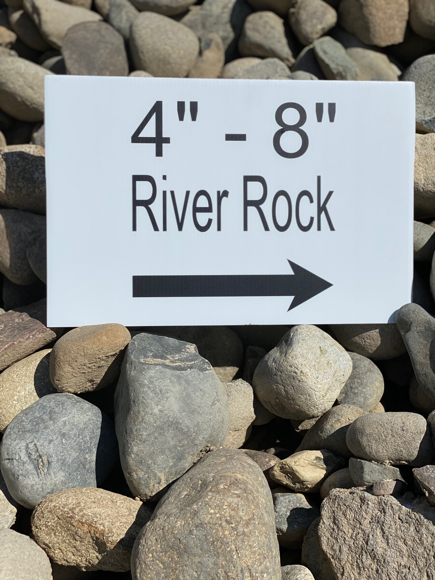 "4"" - 8"" River Rock"