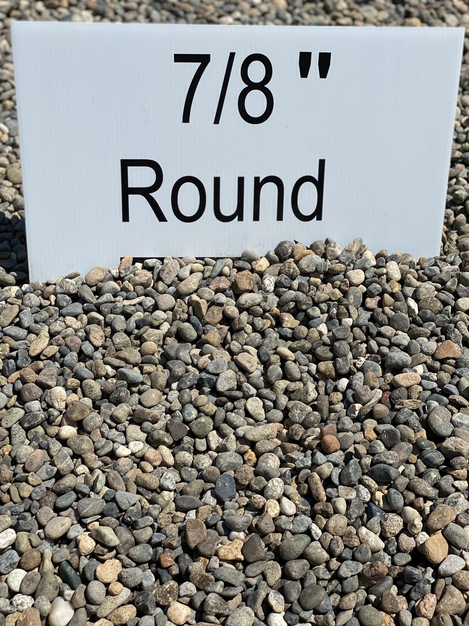"""7/8"""" Round"""