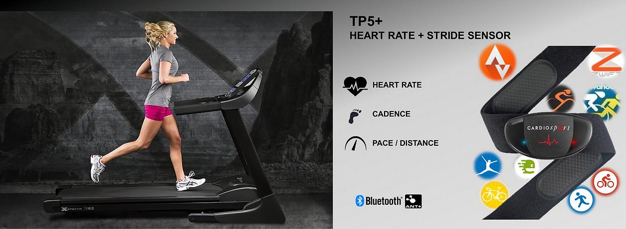 Cardiosport TP5+ Heart Rate Monitor Strid sensor