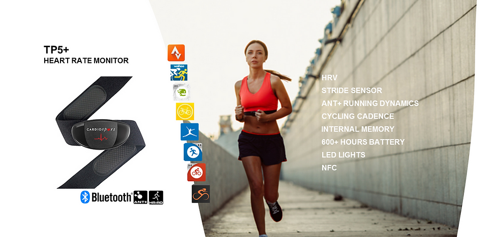 Cardiosport OEM Heart Rate Monitor Whit Label Option