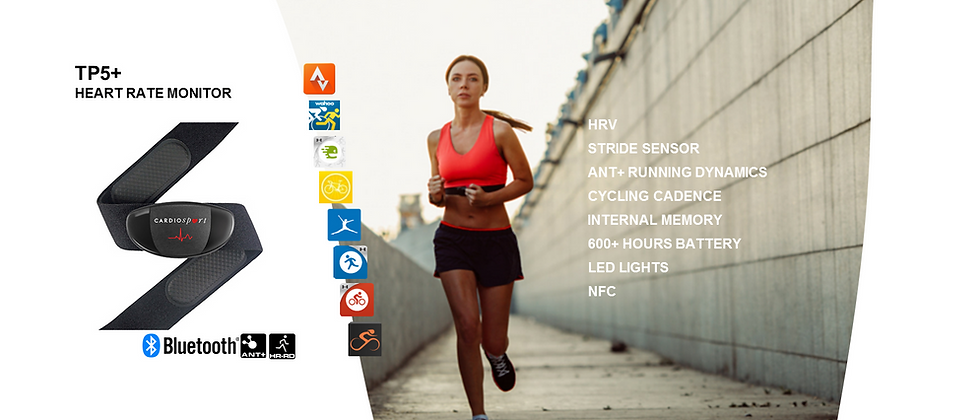 Cardiosport TP5+ Running Heart Rate Sensor