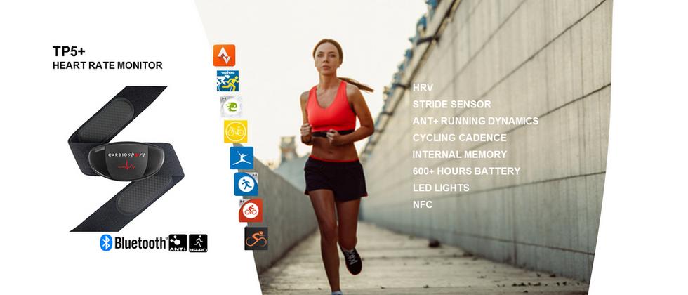 Cardiosport TP5+ Running Heart Rate Sensor