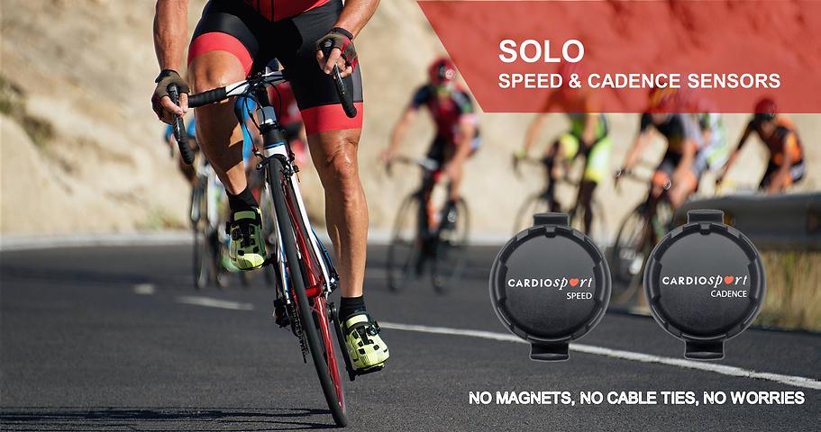 Cardiosport SOLO Speed& Cadene Sensors
