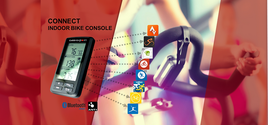 Cardiosport Connect Indoor Group Bike Computer