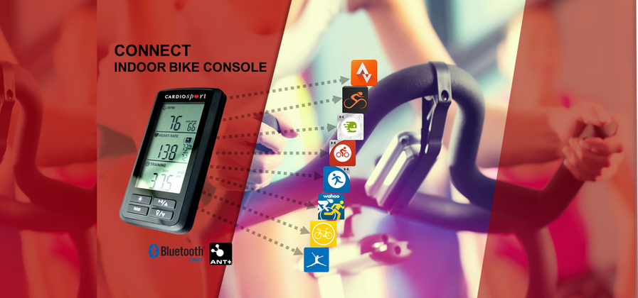 Cardiosport Connect Indoor Group Bike Computer