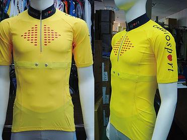 Cardiosport Smart cycling jersey heart rate sensors