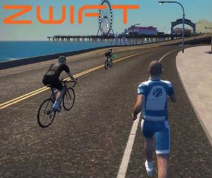 Zwift with Cardiosport TP5