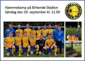 Søndag kl. 11.00 spiller Birkende mod Åsum IF Drengene har trænet godt igennem og er klar til sejr �