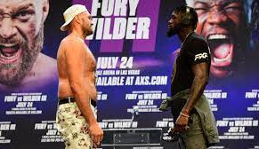 Fury predicts KO of Wilder within 3 rounds