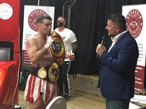McAllister lifts WBO title on historic night in Aberdeen!