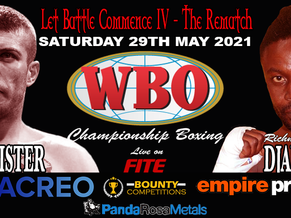 McAllister VS Djarbeng rematch for WBO Title