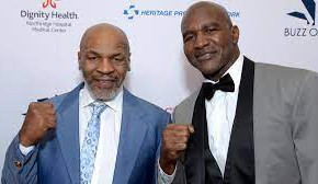 Evander Holyfield demands trilogy fight with Mike Tyson!