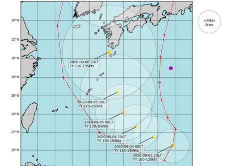 Ship Routing: Tropical Cyclone Avoidance - Global MeteOcean