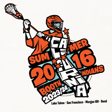 Booth Lacrosse 2016 T-Shirt