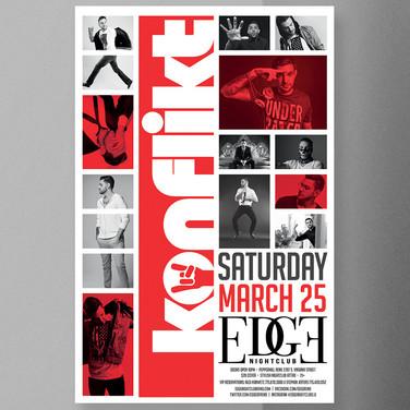DJ Konflikt at EDGE 03/25