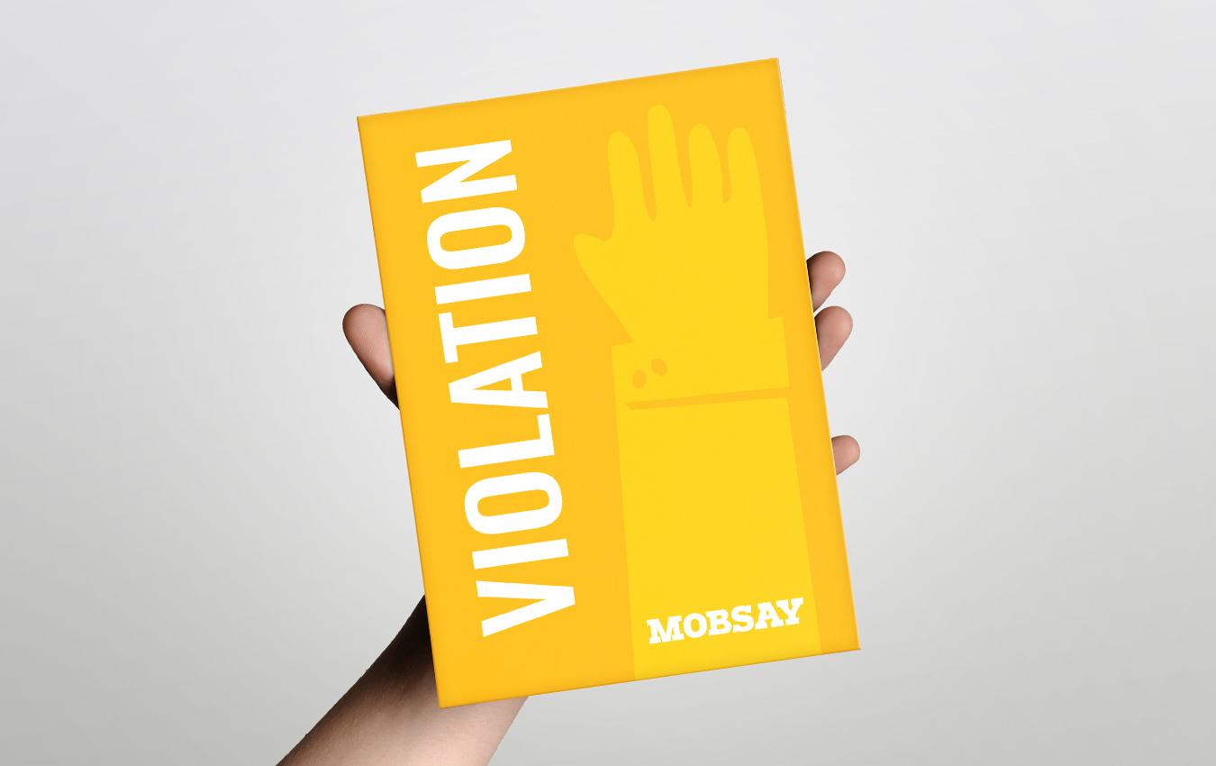 Violation Cards - Yellow