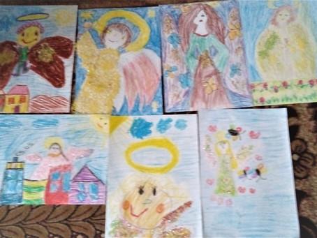 Przedszkolaki w anielskiej krainie