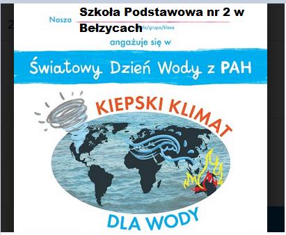 Światowy Dzień Wody z PAH