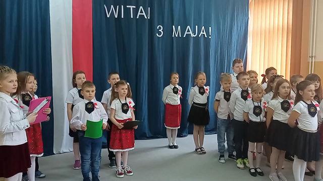 Akademia z okazji uchwalenia Konstytucji 3 maja - Klasa II