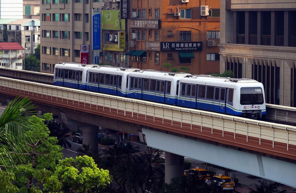 台湾のMRT