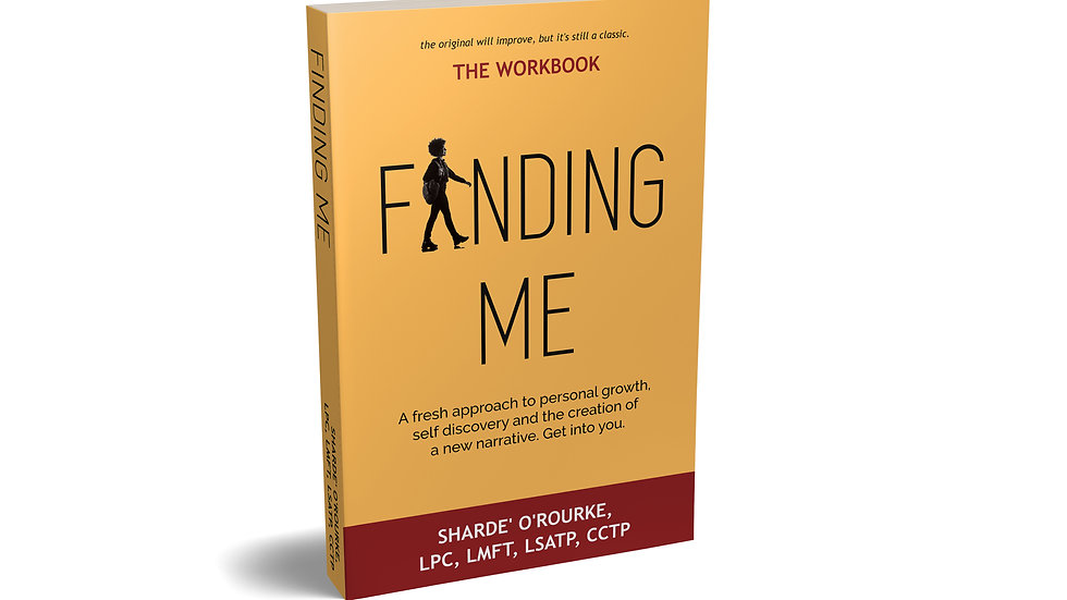 Finding Me - The workbook