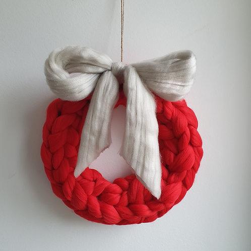 Giant Knit Wreath DIY Kit
