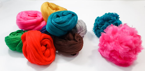Giant Yarn Pom Pom Kit - Brights