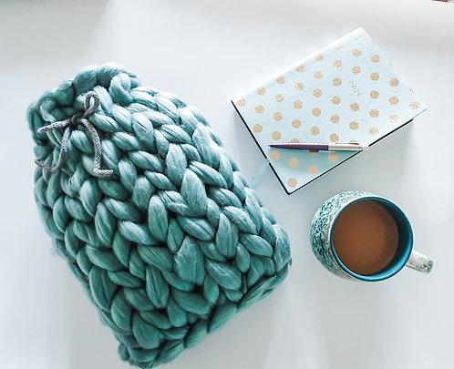 Giant Knit Hot Water Bottle Kit