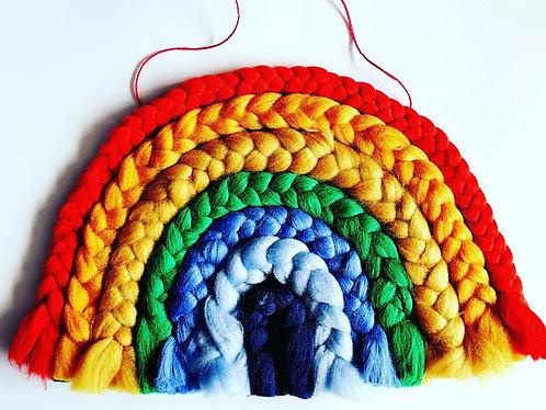Giant Yarn Braided Rainbow Craft & Chatter Box (2-6 People)