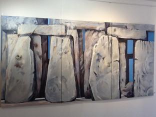 Blue Stone Triptych