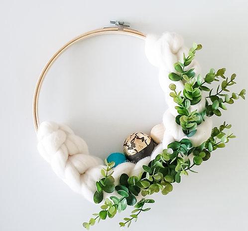 Embroidery Hoop Wreath Kit