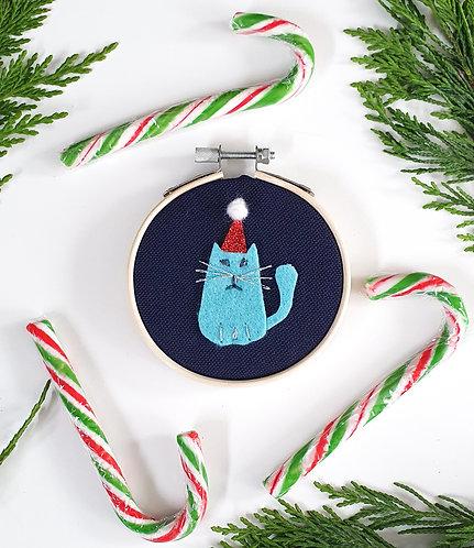 Grumpy Cat Hoop Hanging Decoration