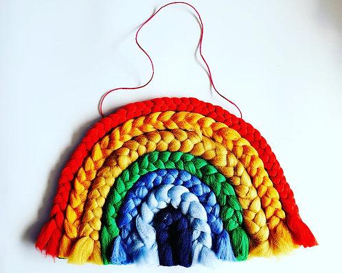 Giant Yarn Braided Rainbow Kit