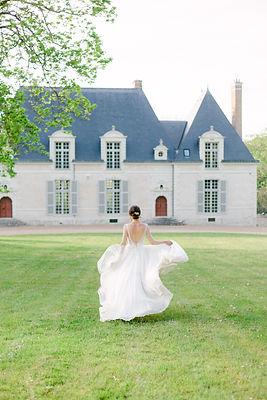 mariage, orleans, loiret, alexia simonnet, wedding planner, mariée, robe, chateau