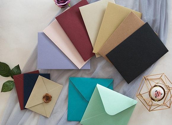 Enveloppe couleur personnalisée