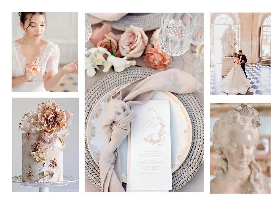 nude wedding - alexia simonnet - wedding