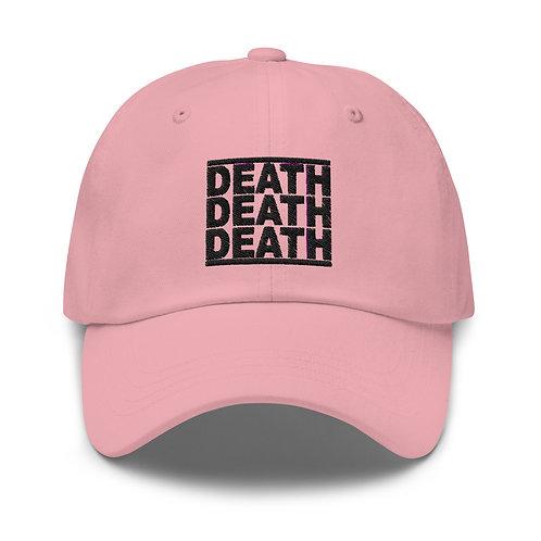 DEATHDEATHDEATH LOGO HAT