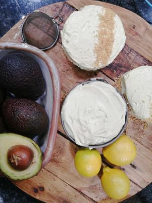 Avocado and Lime Cheesecake